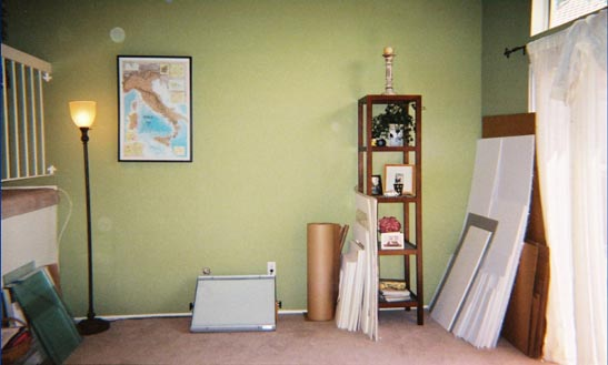 framing studio - after